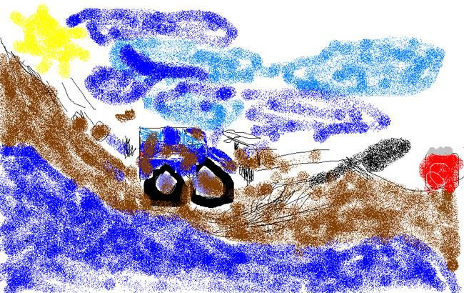 Галерея: Рисунки Старухина Пети